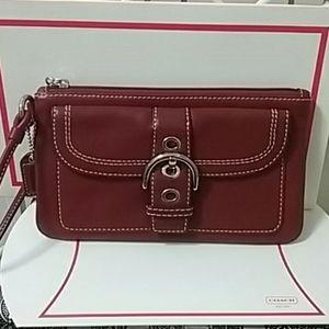 Like NEW, Vintage Coach Wristlet Wallet